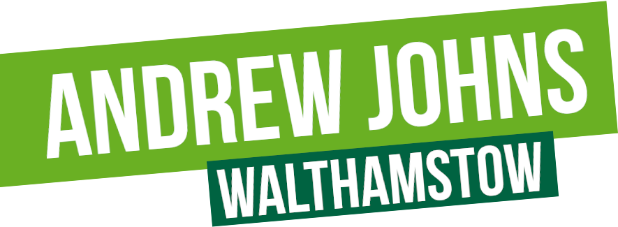 Andrew Johns - Green Party candidate for Walthamstow on 12th December 2019.